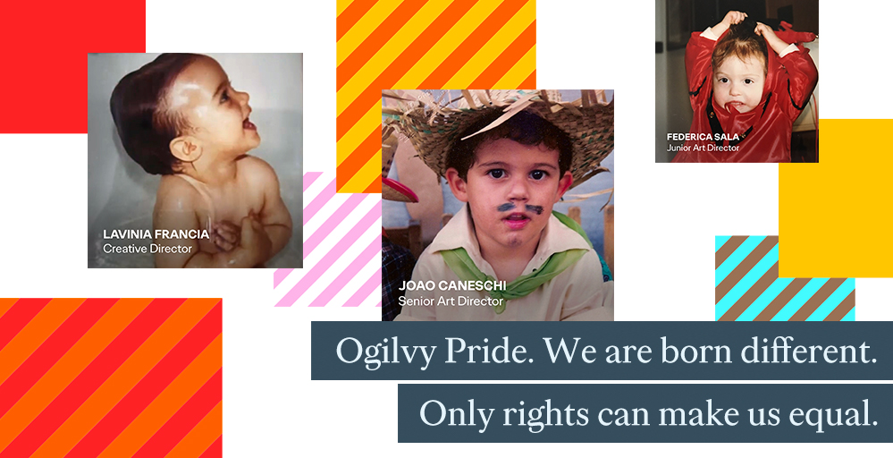 We are born different. Only rights can make us equal.