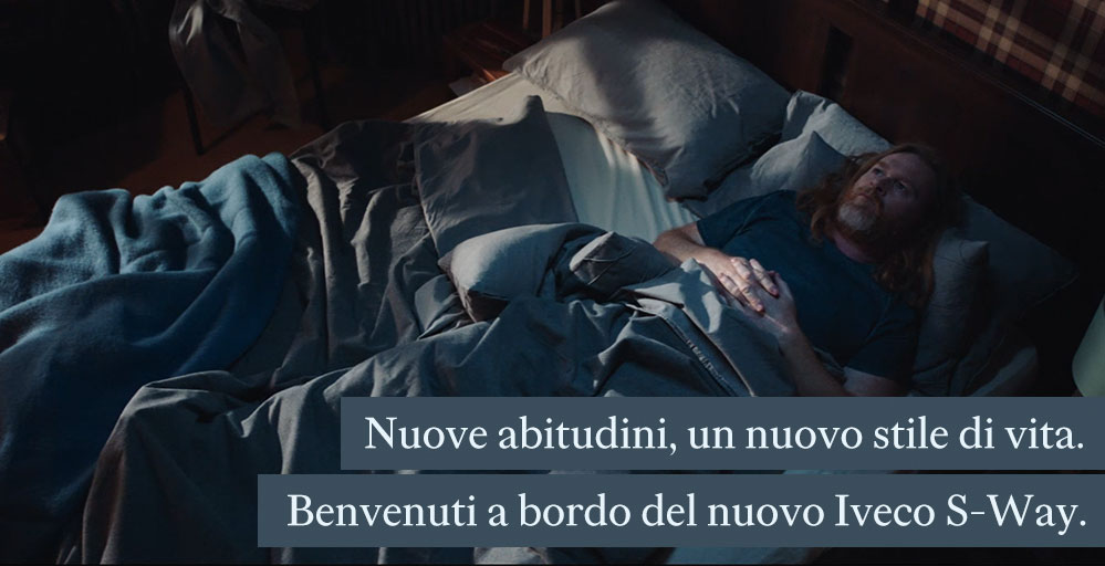 """""""Your new s-way of life"""".  Ogilvy vince la gara per IVECO S-Way e firma il nuovo commercial."""